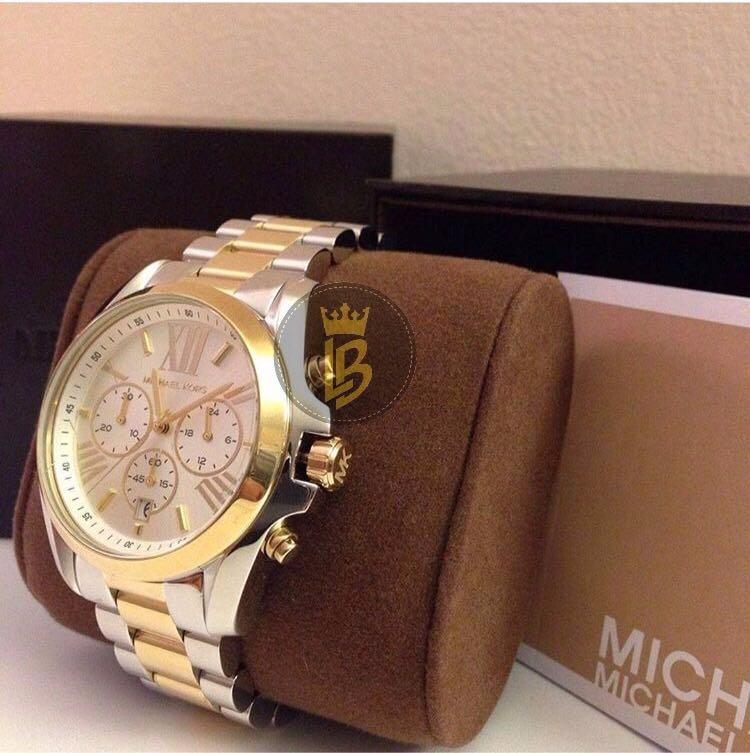 27ed109979e Relógio Michael Kors Mk5627 Romano Misto Original 12xs.juros - R  749