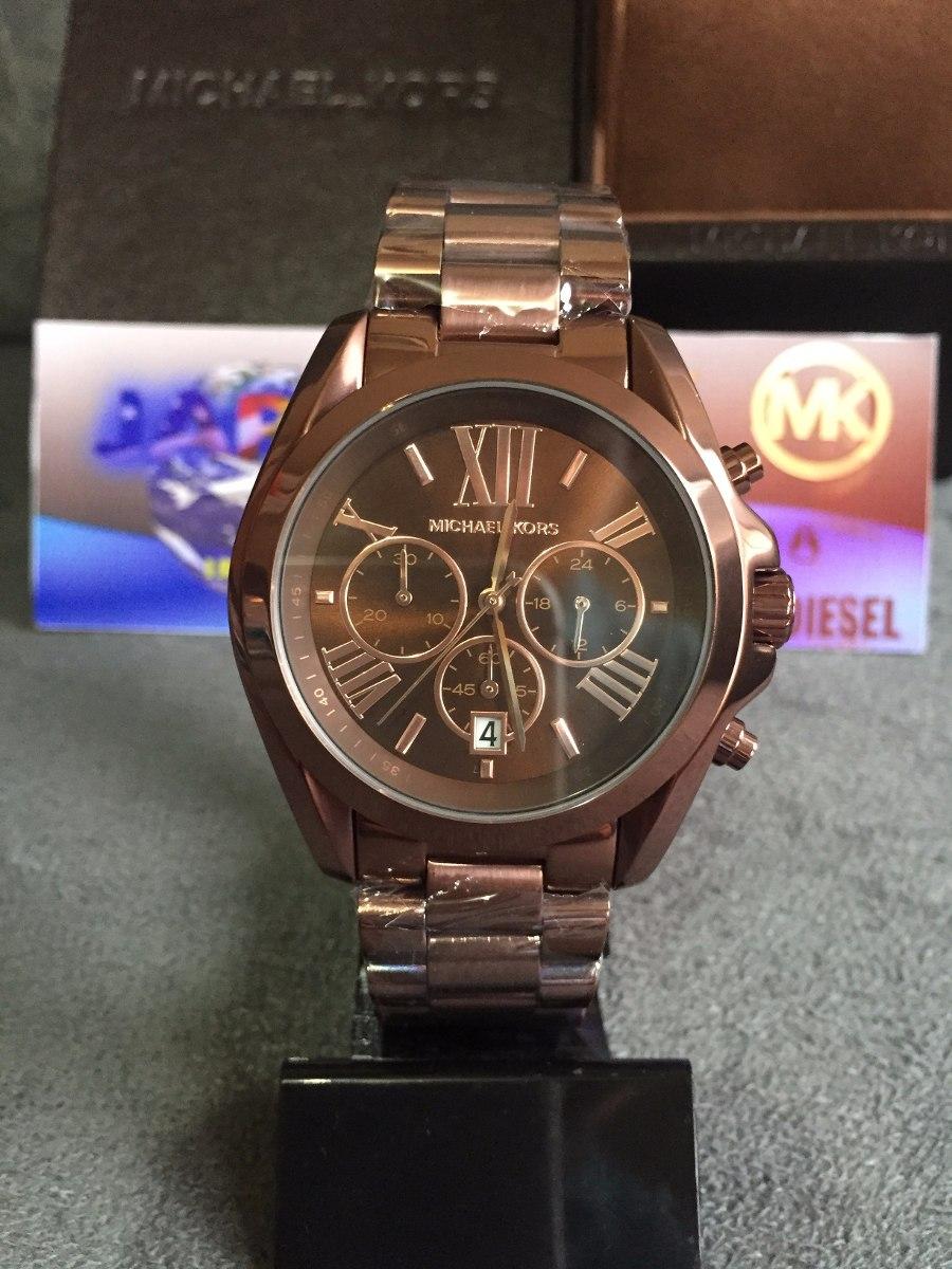 relógio michael kors mk5628 brown original completo c  caixa. Carregando  zoom. 7a4e8cc4af