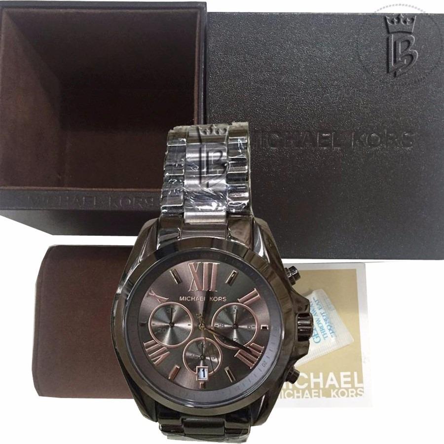 relógio michael kors mk5628 chocolate original 1ano garantia. Carregando  zoom. 34954aa7bd
