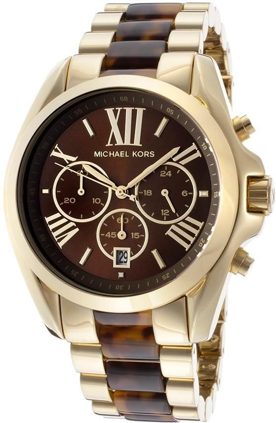 9bc87a5de94 relógio michael kors mk5696 dourado marrom tartaruga péro. Carregando zoom.