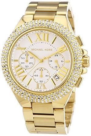 dd7f30c2fd8fa Relógio Michael Kors Mk5756 Dourado Feminino Original - R  950