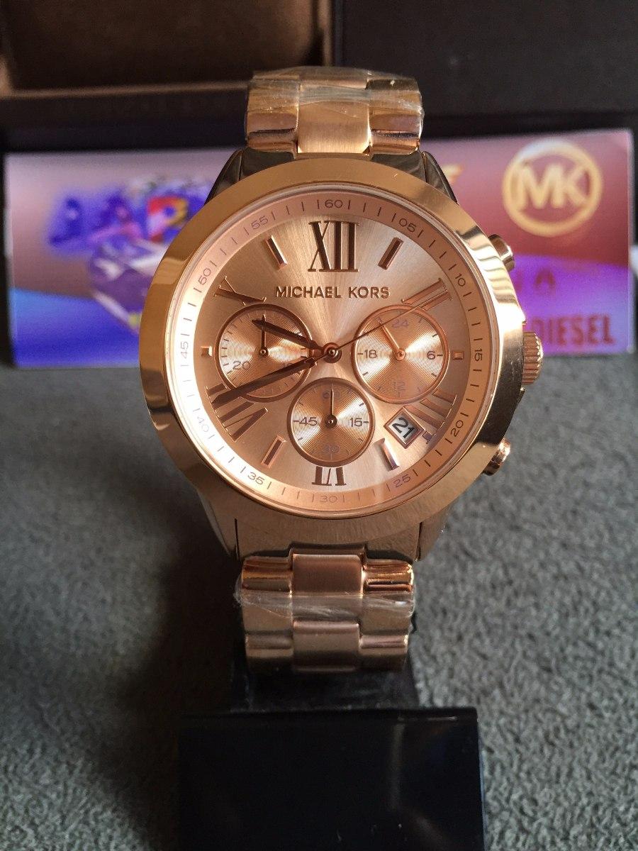 b8b2c7720eaf9 Relógio Michael Kors Mk5778 Rose Original Completo C  Caixa - R  539 ...