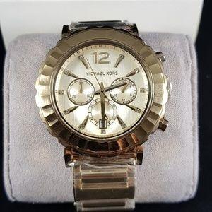 relógio michael kors mk5789  orig chron anal gold!!!