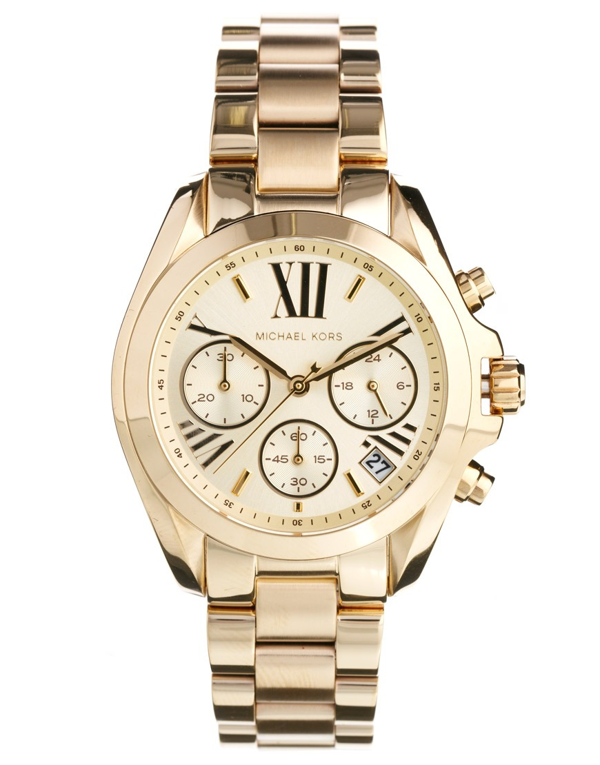 410982967 Relógio Michael Kors Mk5798 Orig Chron Anal Gold - R$ 2.499,99 em ...