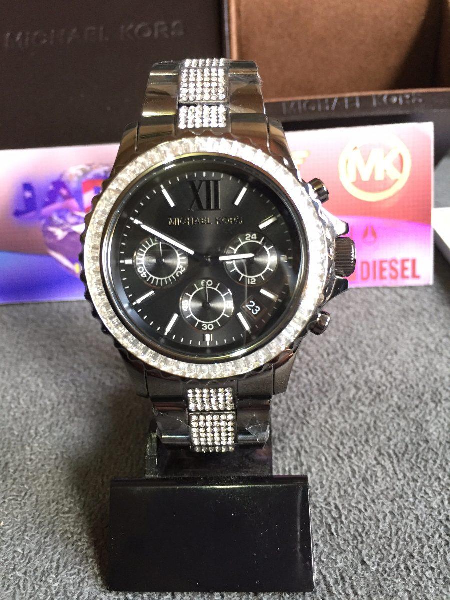 Relogio Michael Kors Mk5829 Black Original Completo C  Caixa - R ... 609a6747fa