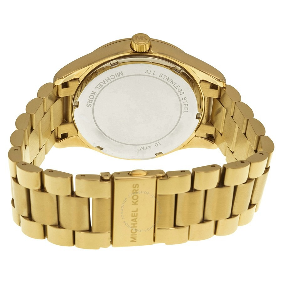 2f3a60b4d8d relógio michael kors mk5959 layton dourado completo original. Carregando  zoom.