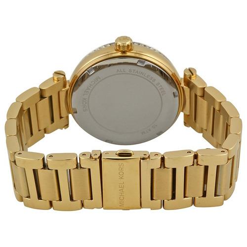 relógio michael kors mk5989 skylar orig chron anal goldblack