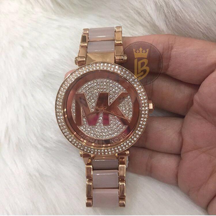 Relógio Michael Kors Mk6176 Caixa Branca 2017 + Frete Grátis - R ... 818b661bf2