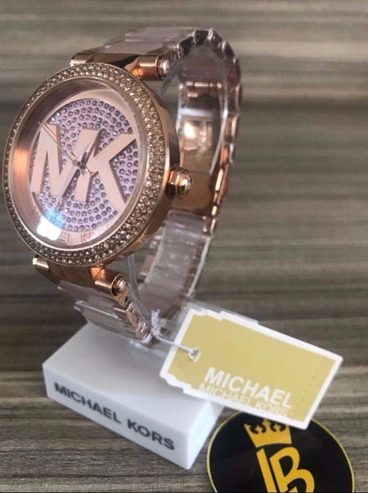 relógio michael kors mk6176 caixa branca 2017 + frete grátis. Carregando  zoom. 52c182f96d