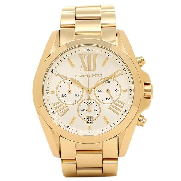 7d7f93a81 Relógio Michael Kors Mk6266 Bradshaw Orig Chron Anal Gold - R$ 2.499 ...