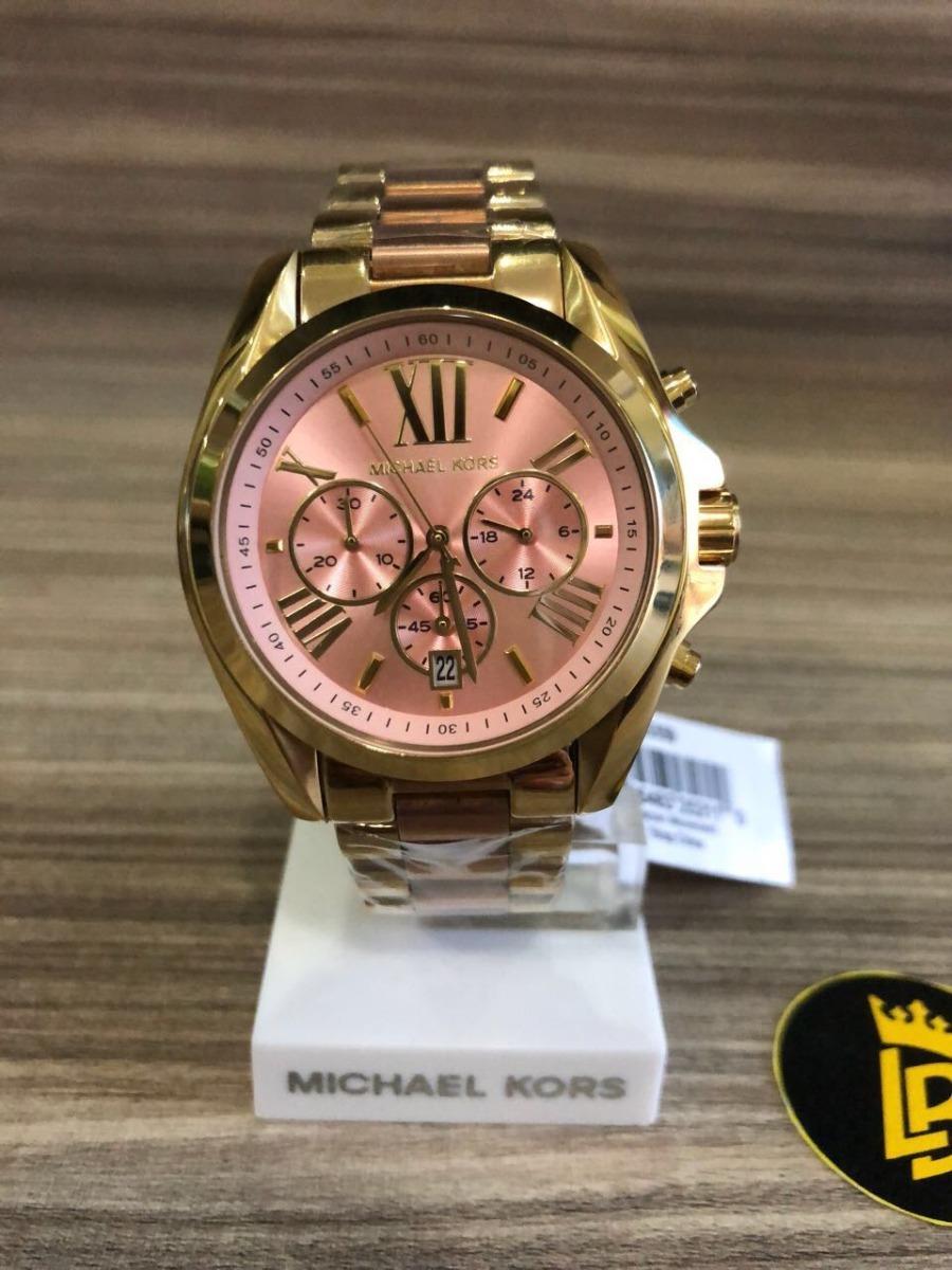1775e839d4761 relógio michael kors mk6359 original ouro com rose gold. Carregando zoom.