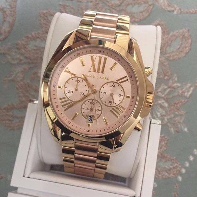 53a96e2fe161a Relógio Michael Kors Mk6359 Original Rose Dourado Garantia - R  348 ...