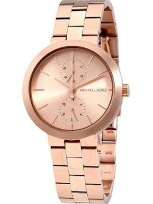 0a789d2b275f5 Relógio Michael Kors - Mk6409 Rose - R  800,00 em Mercado Livre