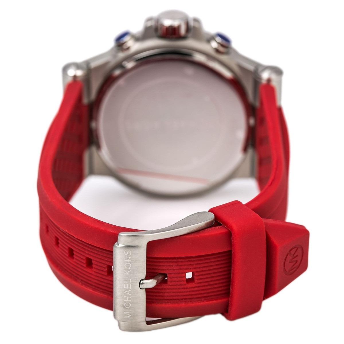 1cf52a5be8b relógio michael kors mk8169 vermelho novo bx00555. Carregando zoom.