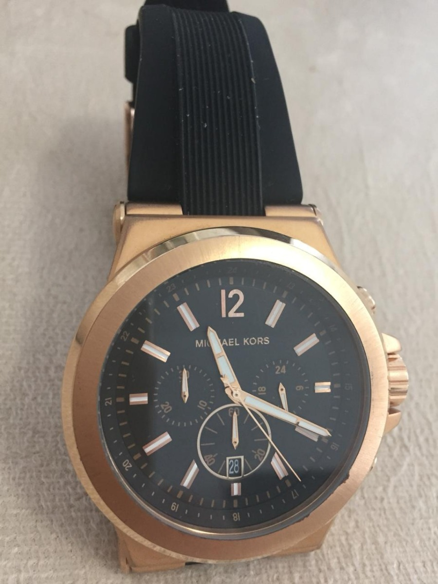 4f73f918cac42 relógio michael kors mk8184 preto 100% original frete barato. Carregando  zoom.