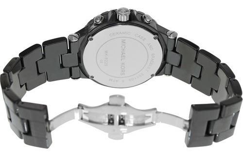 relógio michael kors mk8225 dylan orig chron anal ceramic