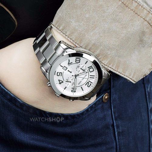 relógio michael kors mk8290 prata original com garantia