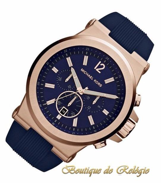 Relógio Michael Kors Mk8295 - Caixa + Manual - 100% Original - R ... 970f95f641
