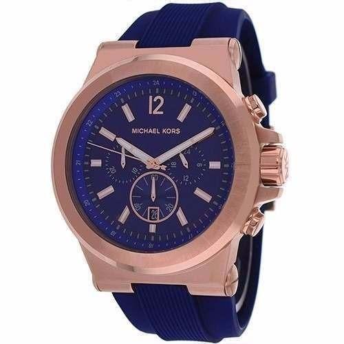 Relogio Michael Kors Mk8295 Masculino Blue Original Lindo - R  328 ... 39a177198c