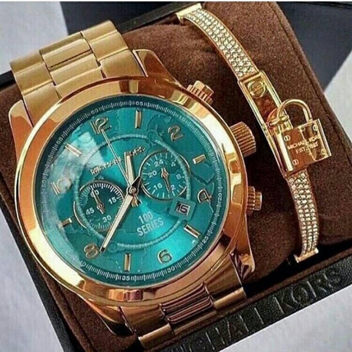 5c02fe5f4d0 relógio michael kors mk8315 completo modelo lindo. Carregando zoom.