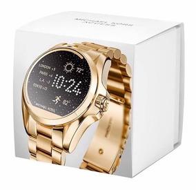 c2aa0524c Relogio Michael Kors Mkt5001 Access Gold Dourado Smartwatch