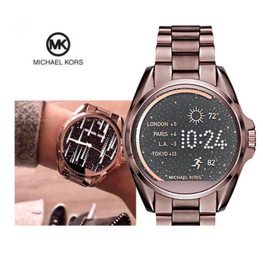 74f5ad801c1e8 relogio michael kors mkt5007 access touch digital marrom. Carregando zoom.