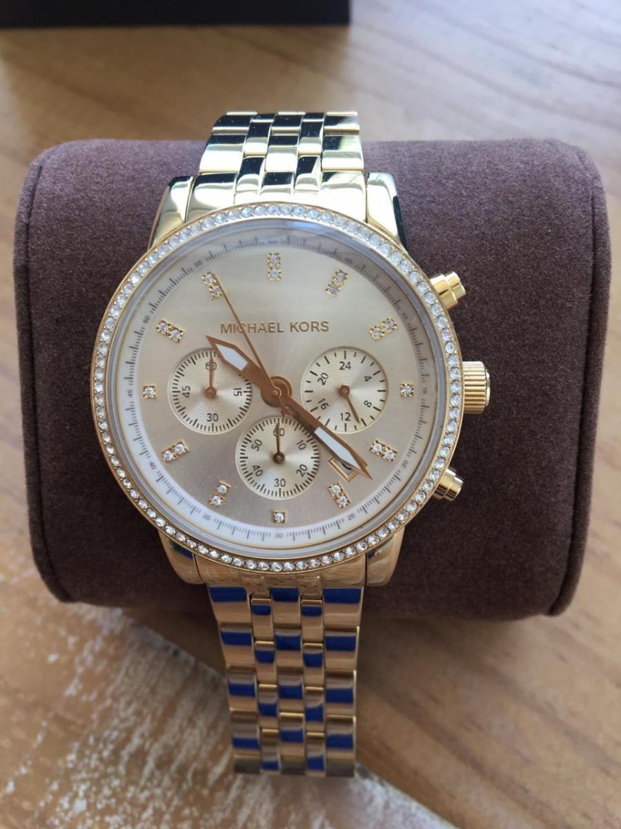 2c42eb094b2b3 relógio michael kors original. Carregando zoom.