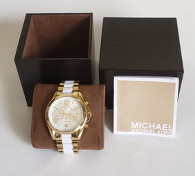 75f392185 Relógio Michael Kors Mk 5743 Dourado - Relógios De Pulso no Mercado ...