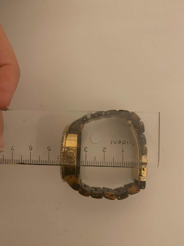relógio michael kors original mk5366 tartaruga feminino