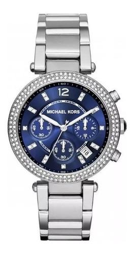 relógio michael kors parker mk6117/1an original nota fiscal