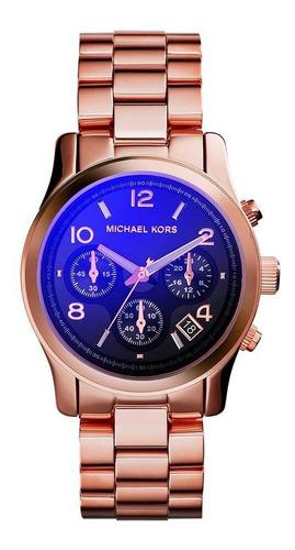relógio michael kors runway  rose gold - mk5940