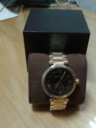 relogio michael kors skylar feminina black watch mk5989