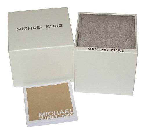 relógio michael kors slim - mk8585/1kn - promoção