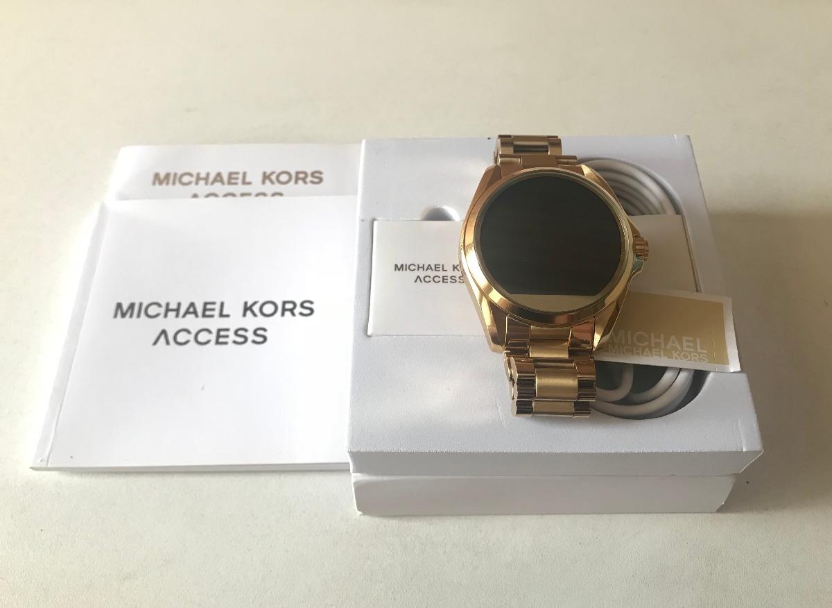 relogio michael kors smartwatch mkt5001 access touch digital. Carregando  zoom. a394841f33