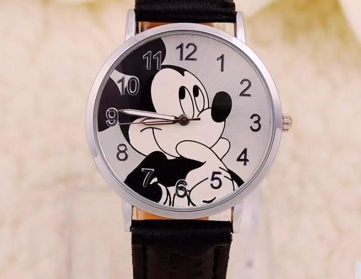 94885d02ddc Relógio Mickey Feminino Analógico Nova Moda Luxo Estilo Top - R  29 ...