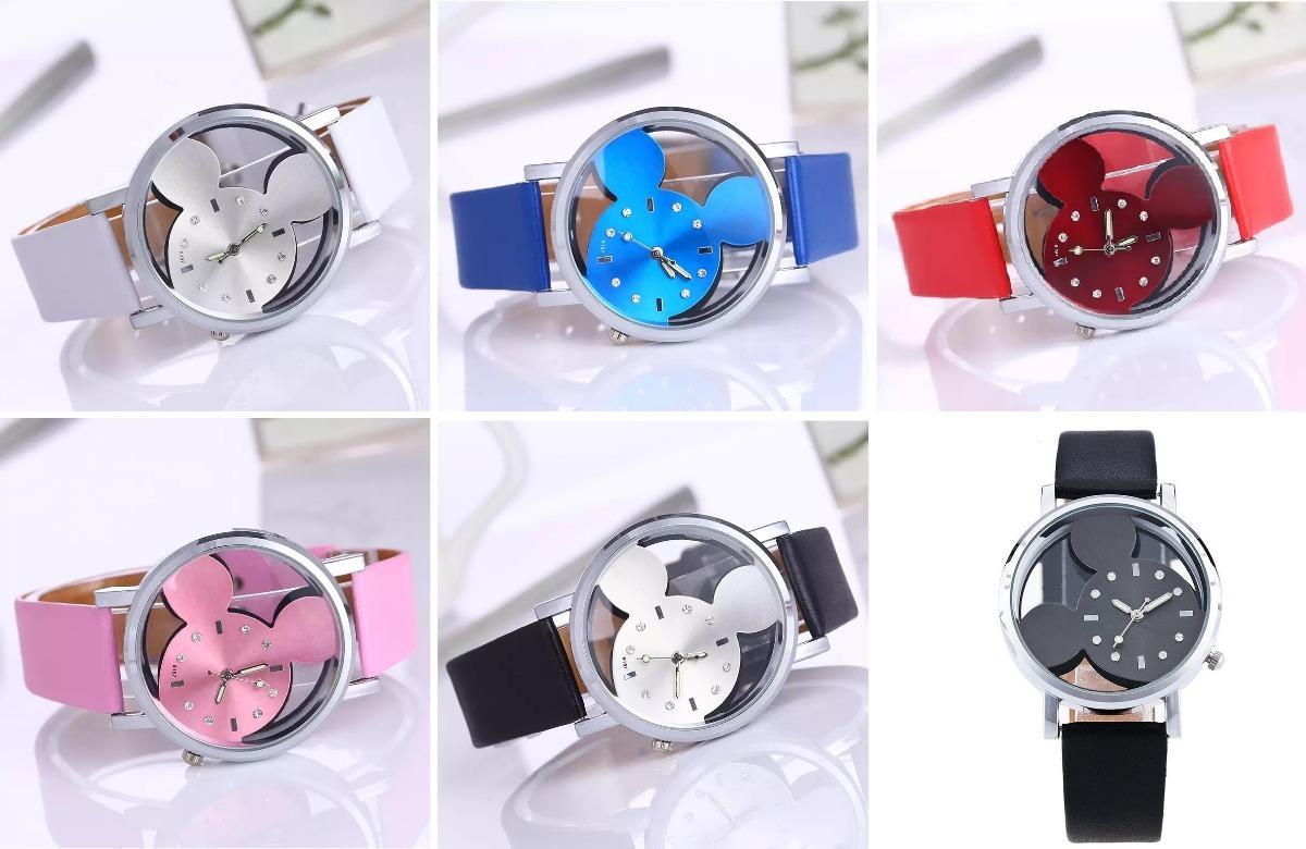 e022f1d171e Relógio Mickey Kit Rosa
