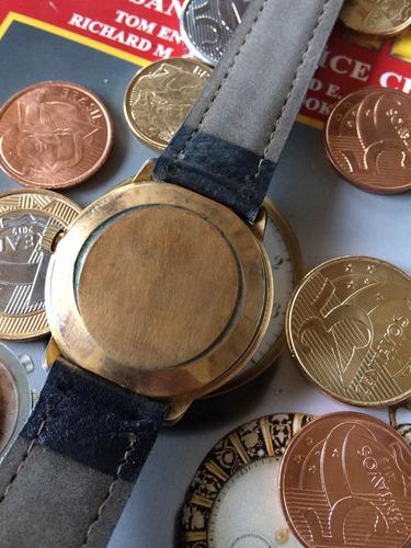 e88034e7b3d Relógio Mido Antigo (no Estado) Leia Descrição - R  550