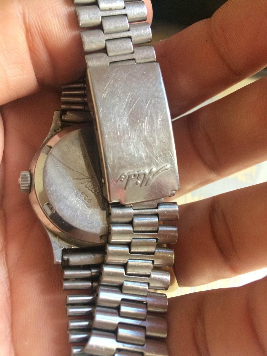 873052ab0ac relógio mido antigo (no estado) leia descrição. Carregando zoom.
