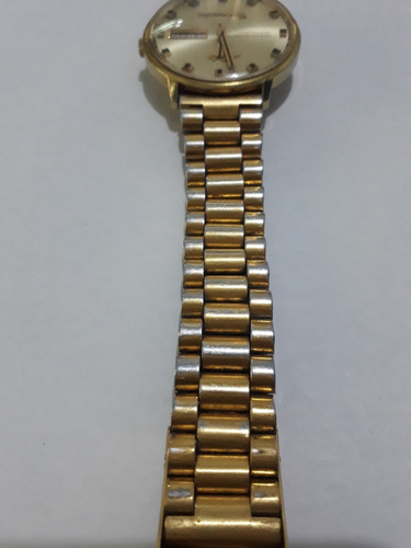 relógio mido automático ocean star datoday commander dourado