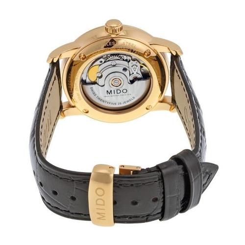 8975c18469d Relógio Mido Baroncelli M8600.3.13.4 Automatico 38mm Dourado - R ...