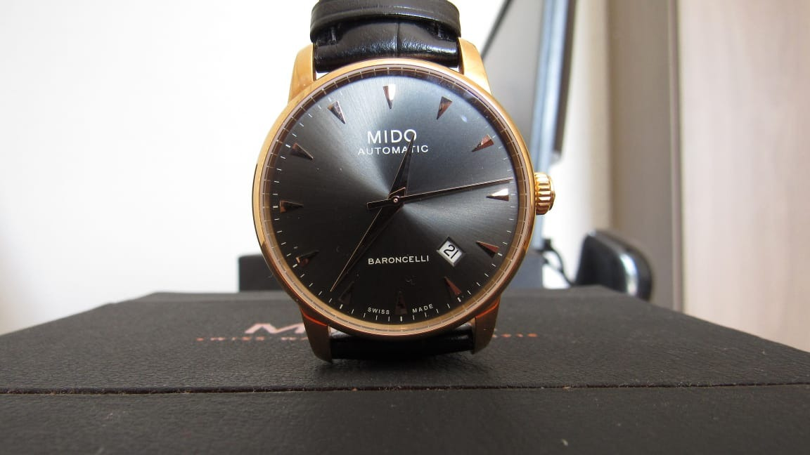 7526c0d5e72 relógio mido baroncelli m8600.3.13.4 automatico. Carregando zoom.