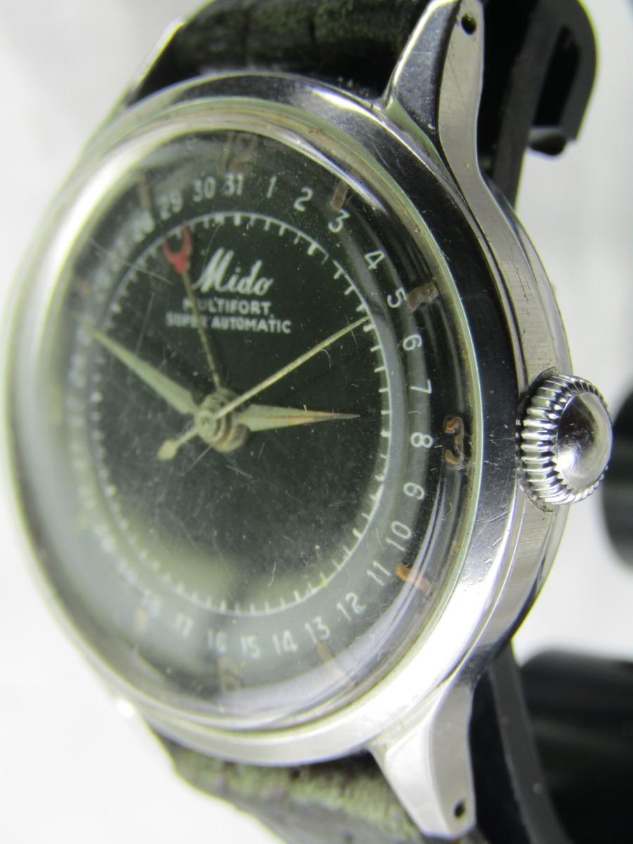 61d67d89568 Relógio Mido Calendário Periférico Garantia Relogiodovovô - R  1.600 ...