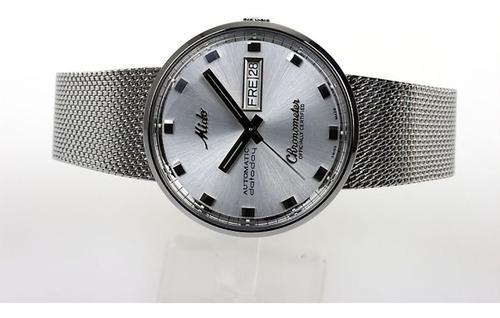 relógio mido - commander chronometer - m8429.4.c1.11 - cosc