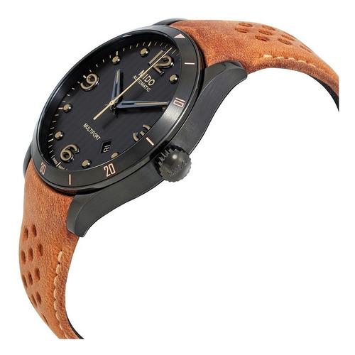 relógio mido multifort m0254073606110 anthracite automatic