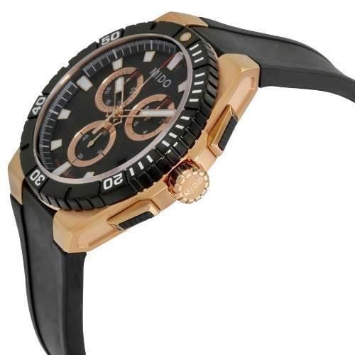 85e065d9ee9 Relógio Mido Ocean Star Captain M023.417.37.051.00 Rose Gold - R ...