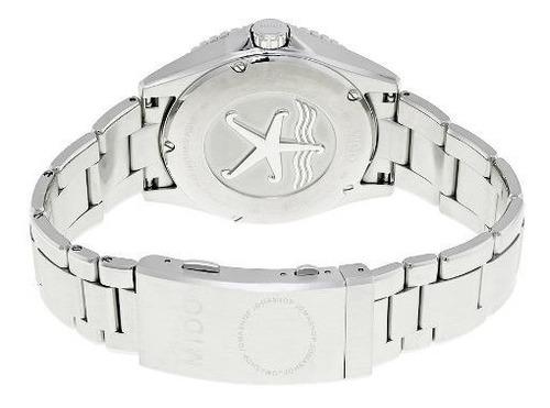 relógio mido ocean star m0264301105100 captain  automatico