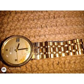Relógio Mido Ocean Star, Plaque Ouro, Automático.