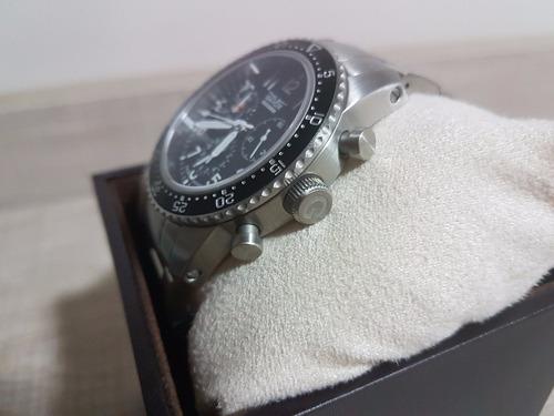 relógio militar aviador gavox squadron sinn - serie limitada