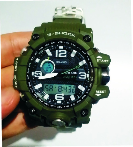 relógio  militar boamigo  s-shock digital prova d'água