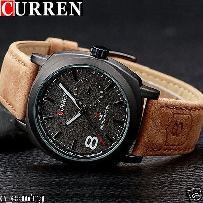 6ffda3a29b0 Relógio Militar Curren Army Masculino Moderno Promoção Soki - R ...